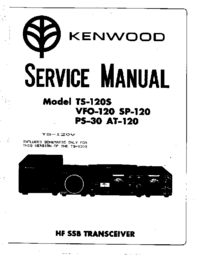 Manual de servicio Kenwood VFO-120
