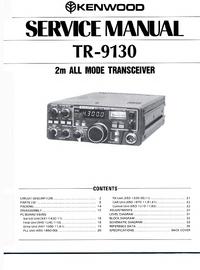 Service Manual Kenwood TR-9130