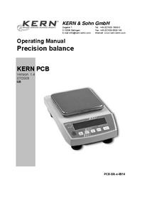 Руководство пользователя Kern PCB