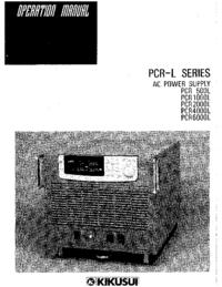 Bedienungsanleitung Kikusi PCR 4000L