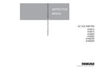 Service and User Manual Kikusi AVM15