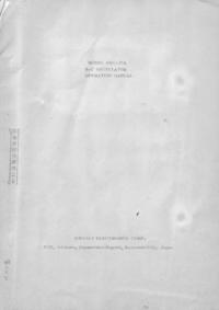 Service- und Bedienungsanleitung Kikusi ORC-27A