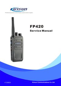 Servicehandboek Kirisun FP420