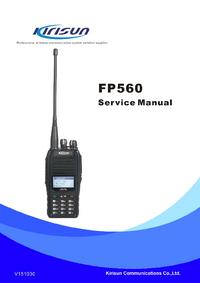 Manual de servicio Kirisun FP560