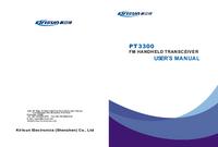 Manual del usuario Kirisun PT3300