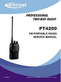 Service Manual Kirisun PT4200