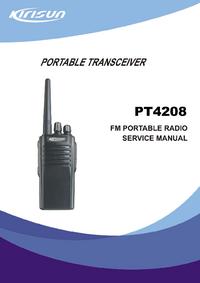 Instrukcja serwisowa Kirisun PT4208