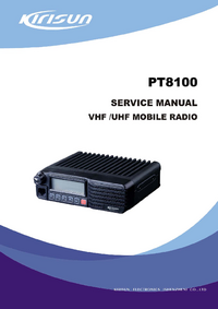 Service Manual Kirisun PT8100