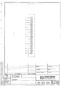 Diagrama cirquit KontronMedical Sigma 1