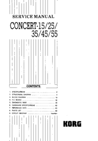 Servicehandboek Korg Concert-35