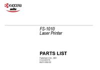 Lista części Kyocera FS-1010