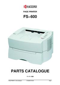 Lista części Kyocera FS-600