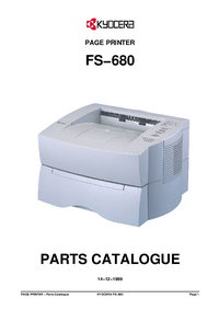 Part Elenco Kyocera FS−680