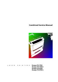 Manuale di servizio Kyocera Ecosys 3700