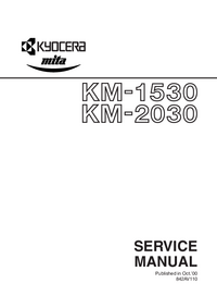 Service Manual Kyocera KM-1530