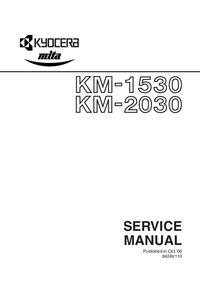 Serviceanleitung Kyocera KM-2030
