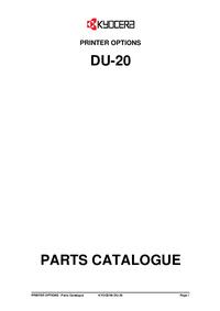Parte de lista Kyocera DU-20