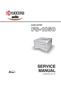 Instrukcja serwisowa Kyocera FS-1050