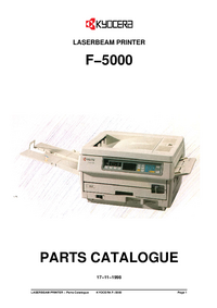 Part Elenco Kyocera F−5000