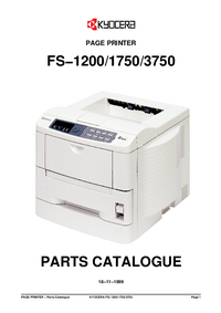 Part List Kyocera FS-3750