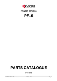 Part Elenco Kyocera PF−5