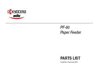 Part Elenco Kyocera PF-60