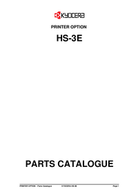 Part Elenco Kyocera HS-3E