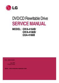 Servicehandboek LG GWA-4164B