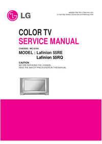 Manual de servicio LG MC-019A