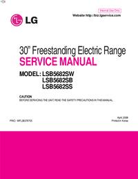Service Manual LG LSB5682SS