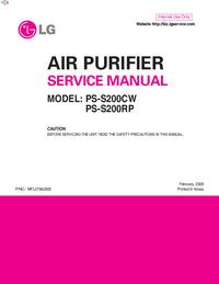 Service Manual LG PS-S200CW