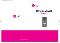 Service Manual LG KG300