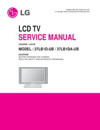 Manual de servicio LG LA61B
