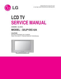 Serviceanleitung LG 32LP1DC-UA