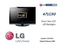 Manuale di servizio LG 47LG90