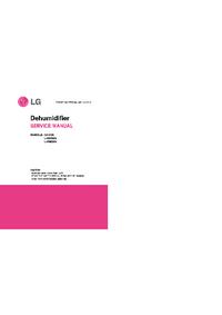 Servicehandboek LG GHD30