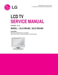 Service Manual LG 20LC1RB-MG