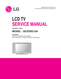 manuel de réparation LG LA53A