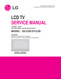 Service Manual LG 32LC2D