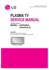 Manuale di servizio LG MF-056C