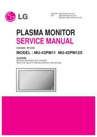 Service Manual LG MU-42PM12X