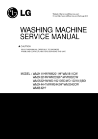 Manual de servicio LG WM2011H