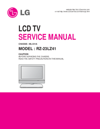 Manual de servicio LG Chassis ML-041A