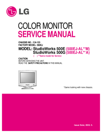 Service Manual LG CA-133