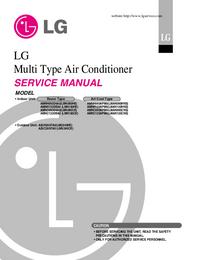 Manual de serviço LG AMNH123APM0(LMAN120HNS)