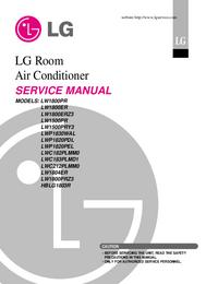 Instrukcja serwisowa LG LW1800ER