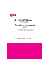 Manual de serviço LG Pedestal Kit