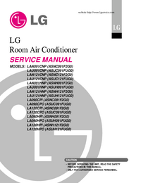 Serviceanleitung LG LA120HPI (ASNH121F2G0)