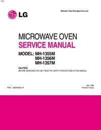 Servicehandboek LG MH-1355M