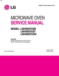 manuel de réparation LG LMVM2075ST